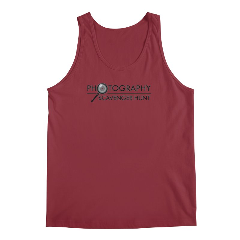 photography scavenger hunt Men's Regular Tank by the twisted world of godriguezart