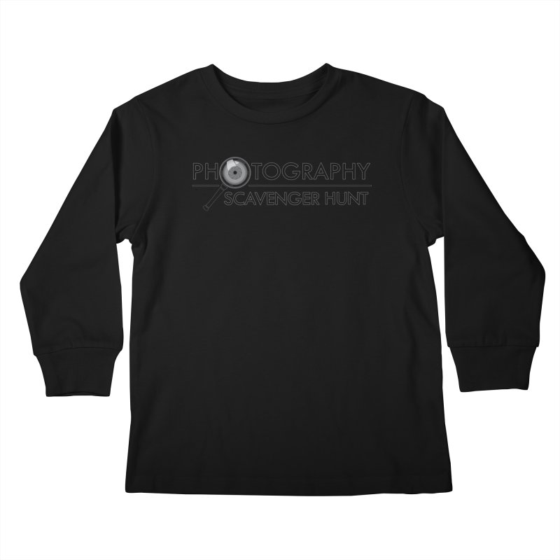 photography scavenger hunt Kids Longsleeve T-Shirt by the twisted world of godriguezart