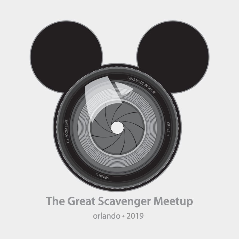 the great scavenger meetup orlando 2019 Accessories Notebook by the twisted world of godriguezart
