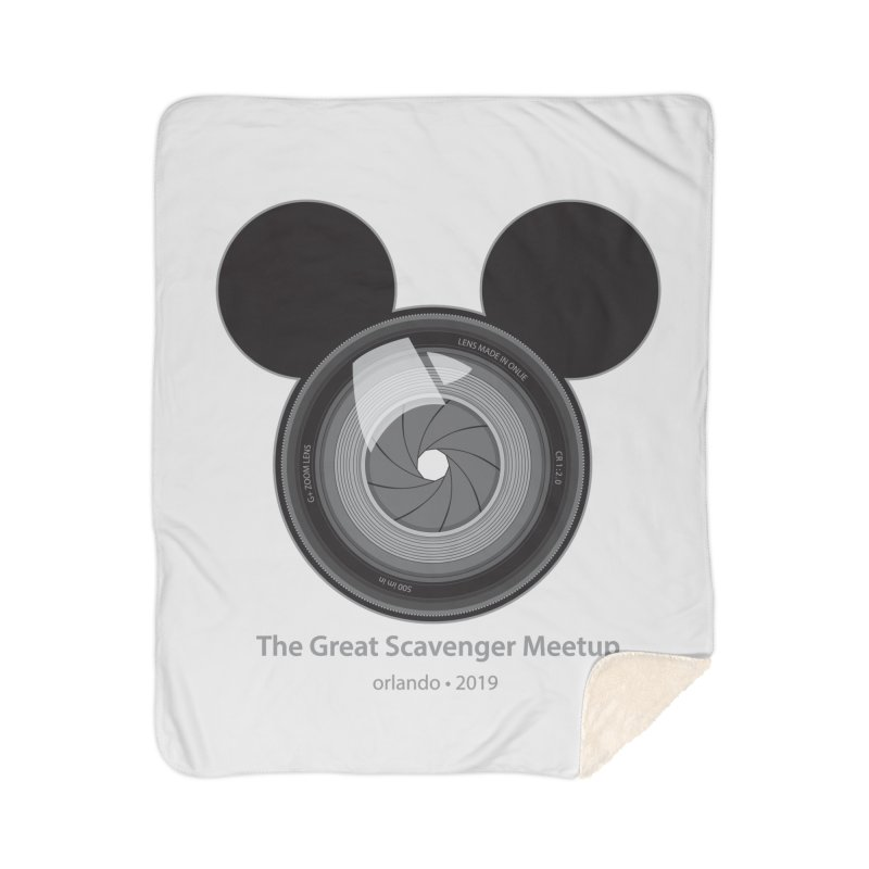 the great scavenger meetup orlando 2019 Home Sherpa Blanket Blanket by the twisted world of godriguezart