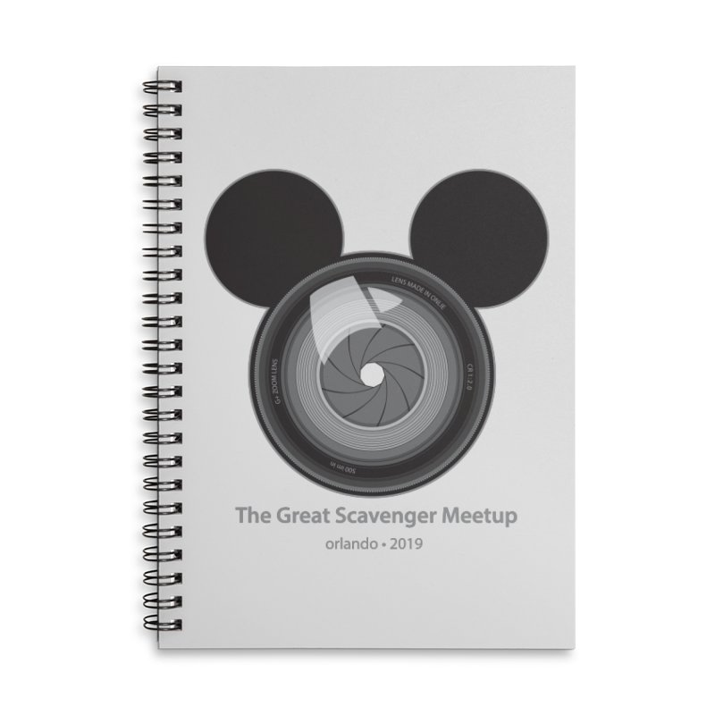 the great scavenger meetup orlando 2019 Accessories Lined Spiral Notebook by the twisted world of godriguezart