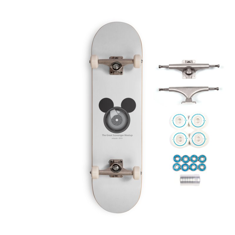 the great scavenger meetup orlando 2019 Accessories Skateboard by the twisted world of godriguezart
