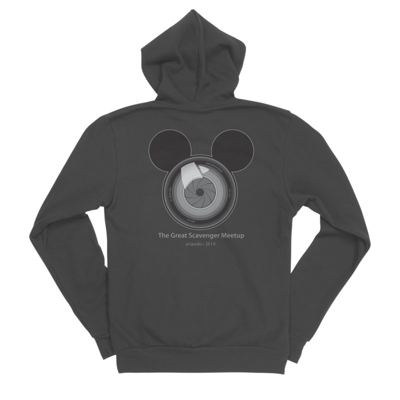 the great scavenger meetup orlando 2019 Women's Sponge Fleece Zip-Up Hoody by the twisted world of godriguezart