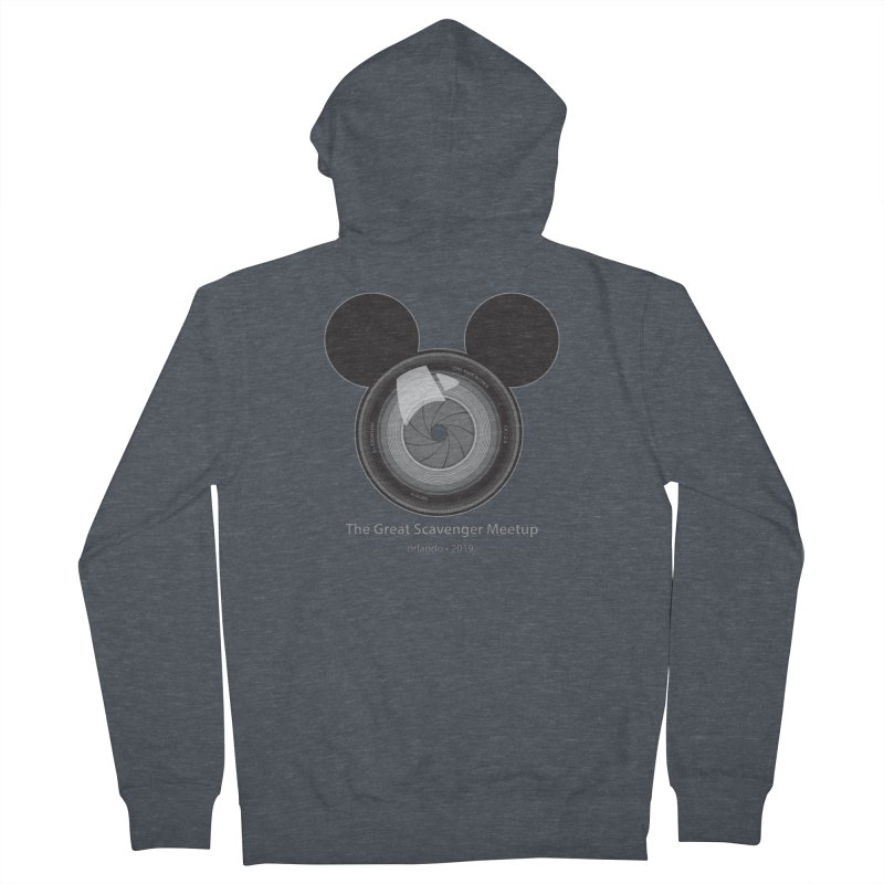 the great scavenger meetup orlando 2019 Women's French Terry Zip-Up Hoody by the twisted world of godriguezart