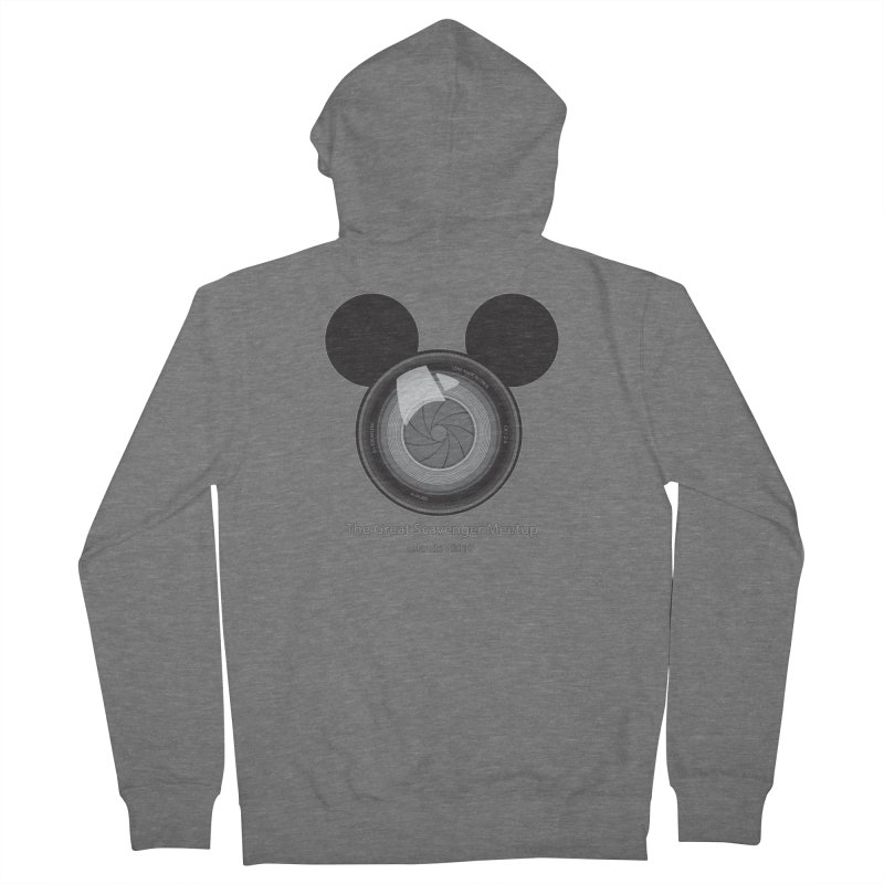 the great scavenger meetup orlando 2019 Men's French Terry Zip-Up Hoody by the twisted world of godriguezart