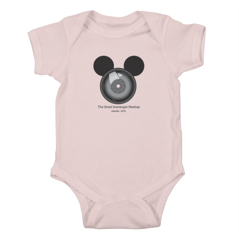 the great scavenger meetup orlando 2019 Kids Baby Bodysuit by the twisted world of godriguezart