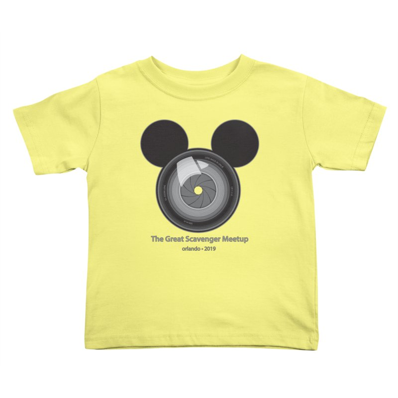 the great scavenger meetup orlando 2019 Kids Toddler T-Shirt by the twisted world of godriguezart