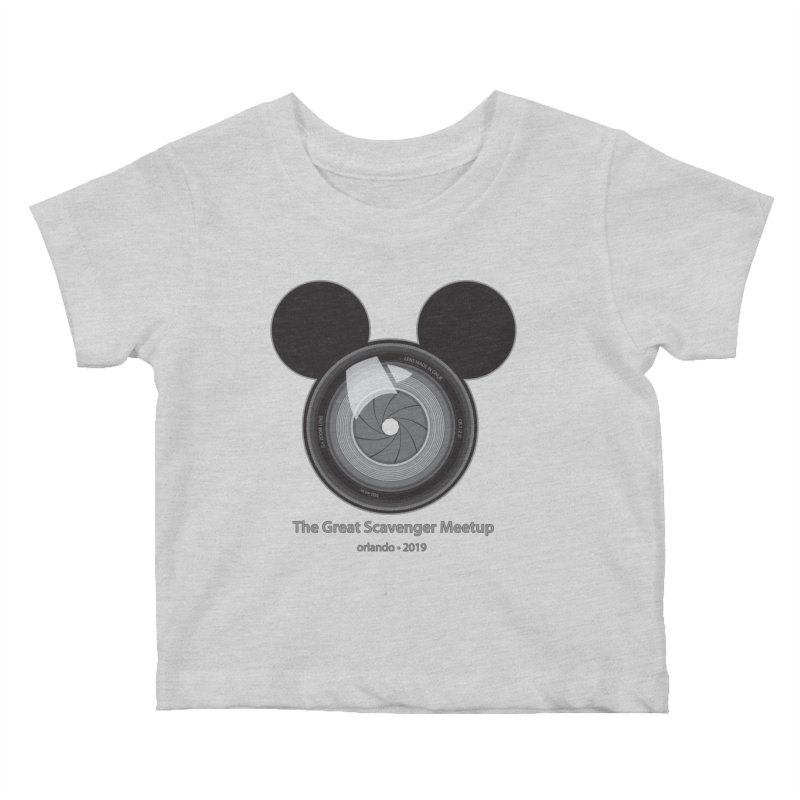 the great scavenger meetup orlando 2019 Kids Baby T-Shirt by the twisted world of godriguezart