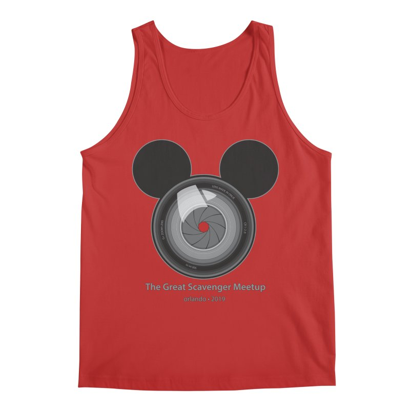 the great scavenger meetup orlando 2019 Men's Regular Tank by the twisted world of godriguezart