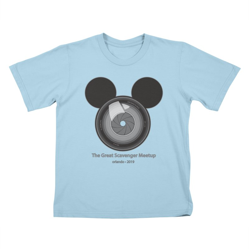 the great scavenger meetup orlando 2019 Kids T-Shirt by the twisted world of godriguezart