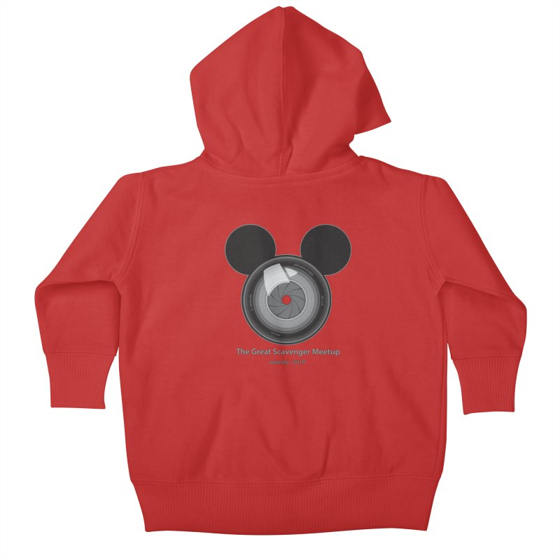 the great scavenger meetup orlando 2019 Kids Baby Zip-Up Hoody by the twisted world of godriguezart