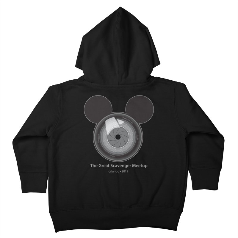 the great scavenger meetup orlando 2019 Kids Toddler Zip-Up Hoody by the twisted world of godriguezart