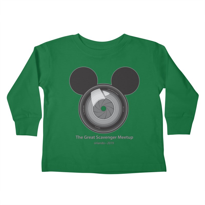 the great scavenger meetup orlando 2019 Kids Toddler Longsleeve T-Shirt by the twisted world of godriguezart