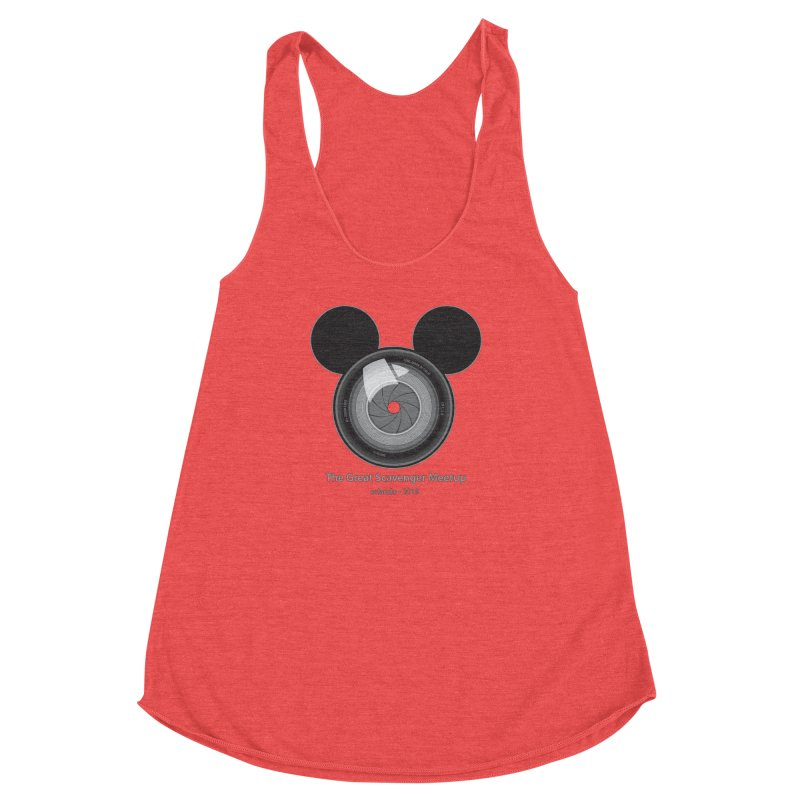 the great scavenger meetup orlando 2019 Women's Racerback Triblend Tank by the twisted world of godriguezart