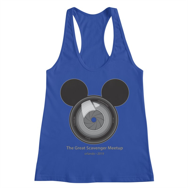 the great scavenger meetup orlando 2019 Women's Racerback Tank by the twisted world of godriguezart