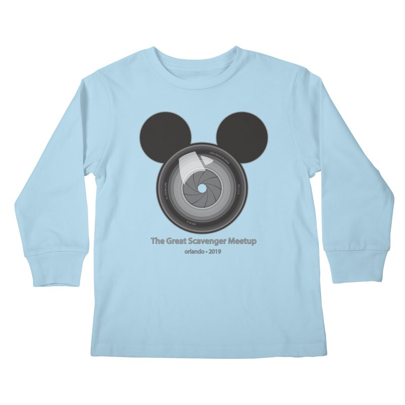 the great scavenger meetup orlando 2019 Kids Longsleeve T-Shirt by the twisted world of godriguezart