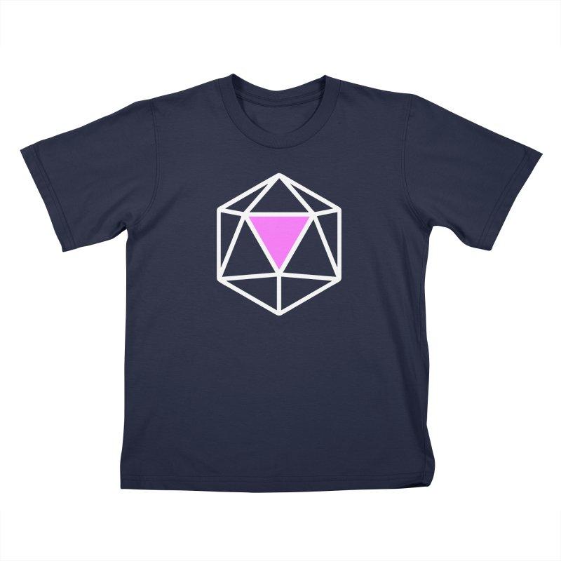 Gaymer's d20 Kids T-Shirt by Godsfall
