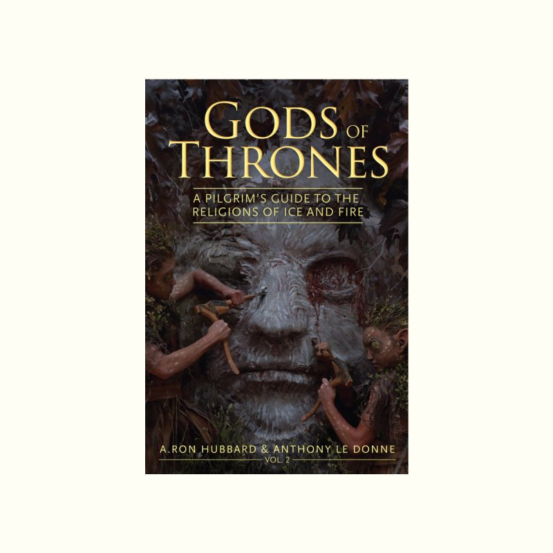 Gods of Thrones Vol. 2 Cover Art Home Fine Art Print by Gods of Thrones Shop