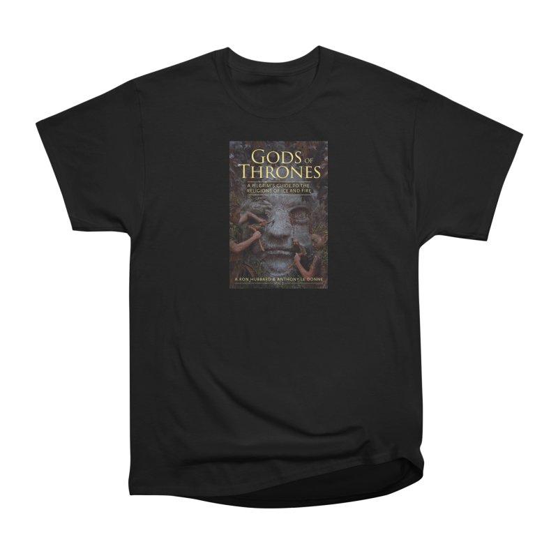 Gods of Thrones Vol. 2 Cover Art Men's Heavyweight T-Shirt by Gods of Thrones Shop