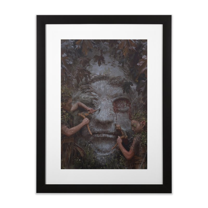 Gods of Thrones Vol. 2 Cover Art Home Framed Fine Art Print by Gods of Thrones Shop