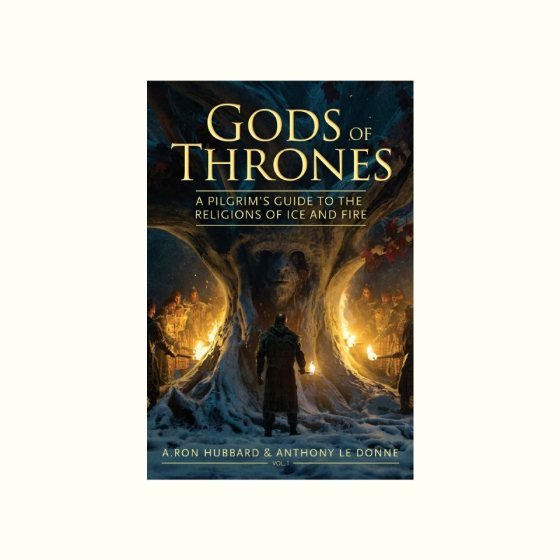 Gods of Thrones Vol. 1 Cover Art Men's T-Shirt by Gods of Thrones Shop