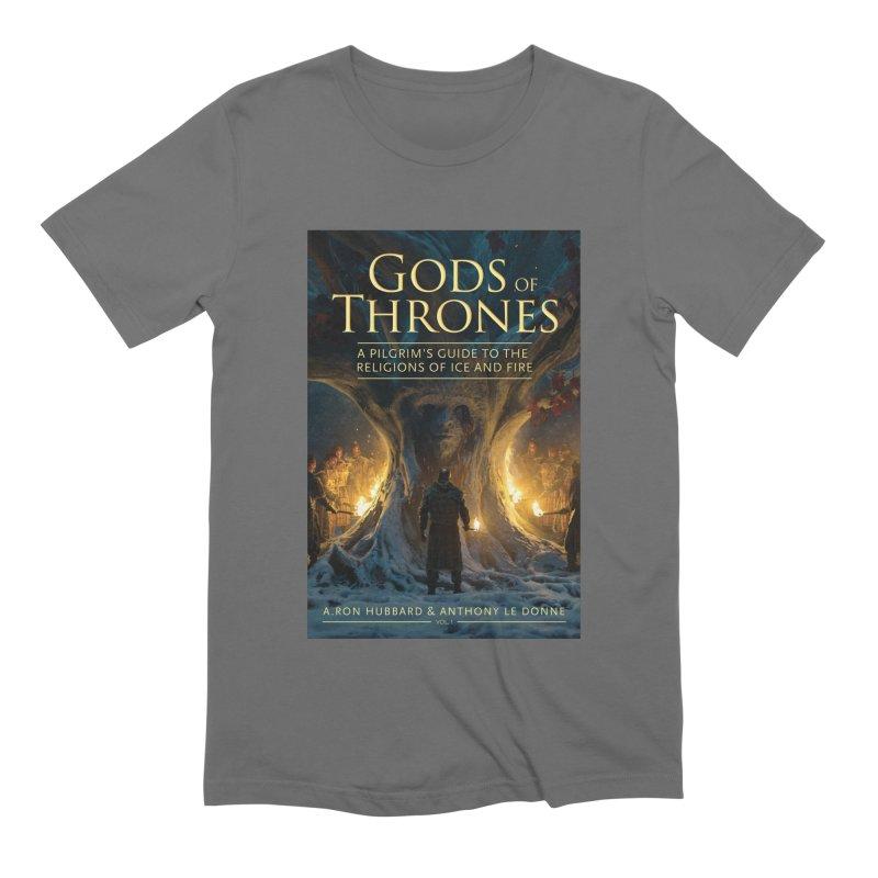 Gods of Thrones Vol. 1 Cover Art Men's Extra Soft T-Shirt by Gods of Thrones Shop