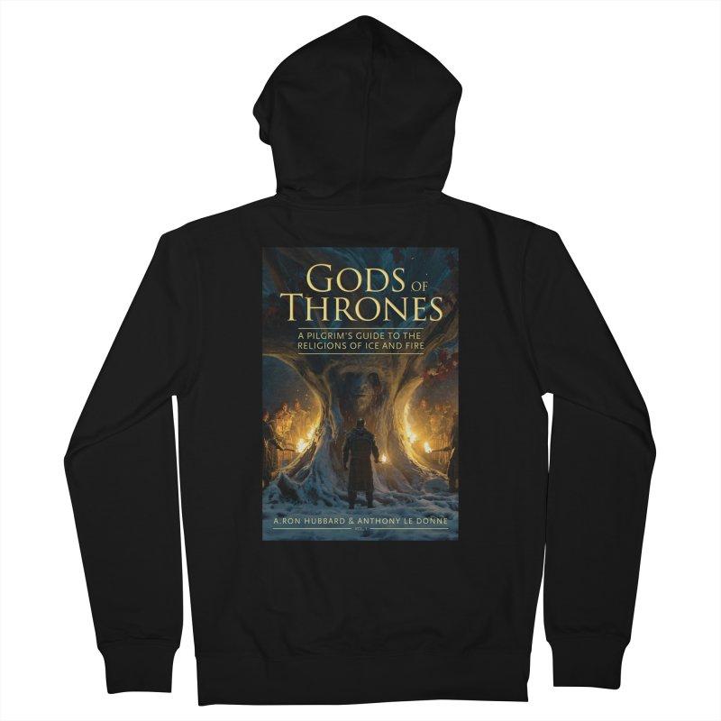 Gods of Thrones Vol. 1 Cover Art Men's French Terry Zip-Up Hoody by Gods of Thrones Shop