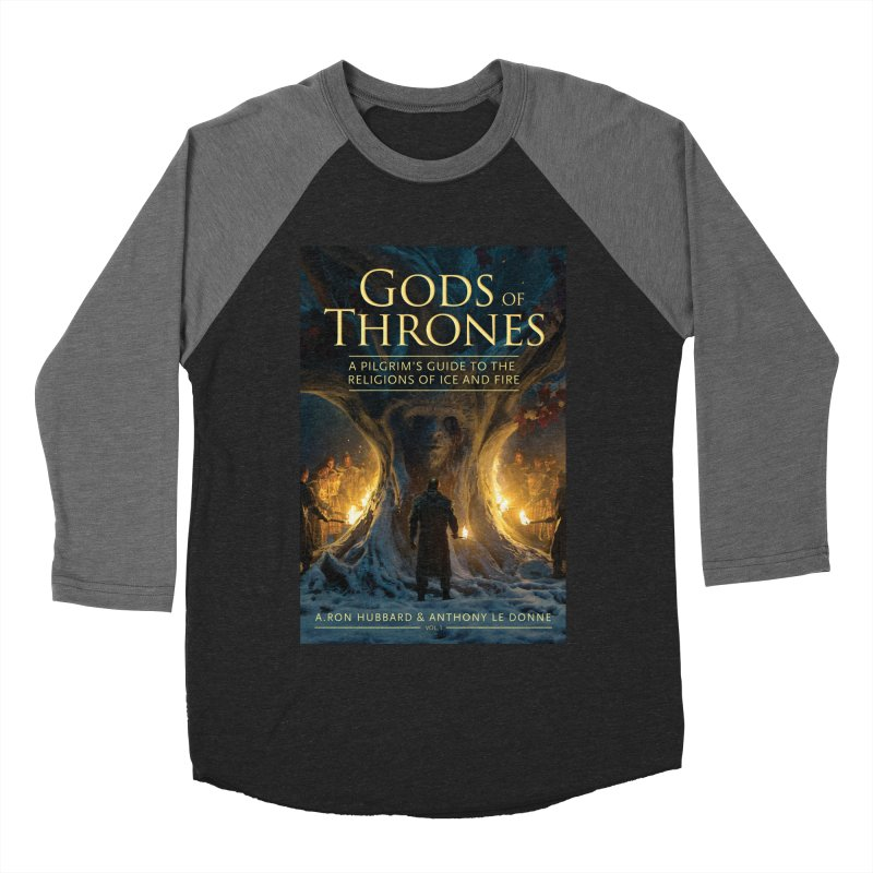 Gods of Thrones Vol. 1 Cover Art Women's Baseball Triblend Longsleeve T-Shirt by Gods of Thrones Shop