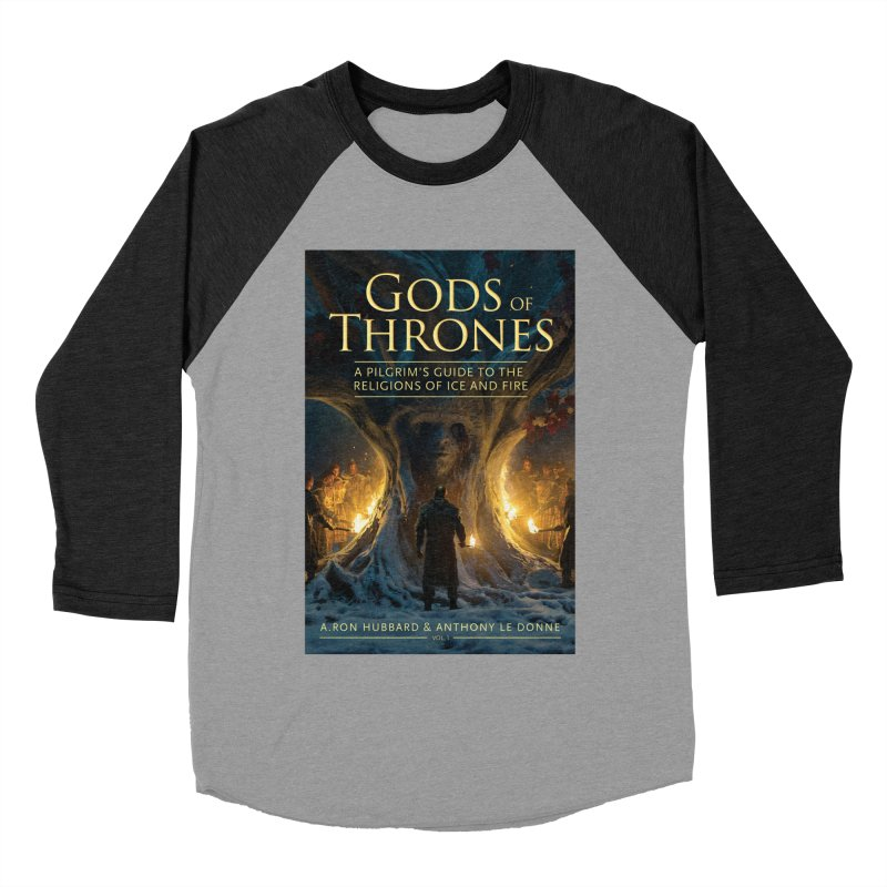 Gods of Thrones Vol. 1 Cover Art Women's Baseball Triblend Longsleeve T-Shirt by Gods of Thrones Shop