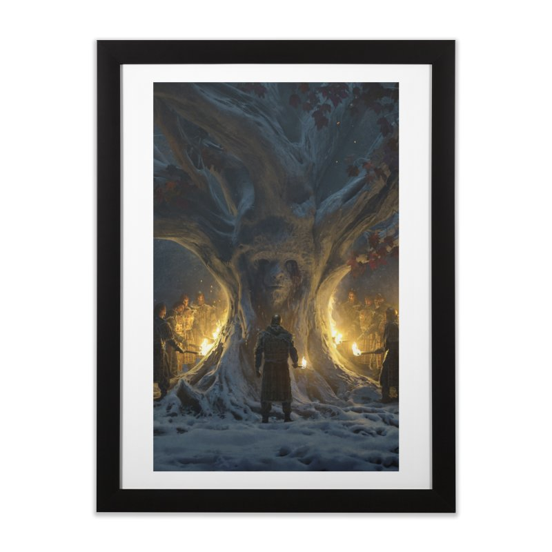 Gods of Thrones Vol. 1 Cover Art Home Framed Fine Art Print by Gods of Thrones Shop