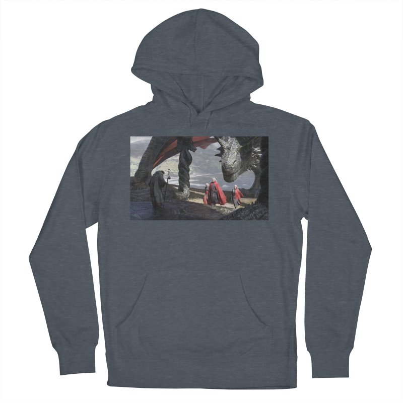 The Sept at Dragonstone Women's French Terry Pullover Hoody by Gods of Thrones Shop
