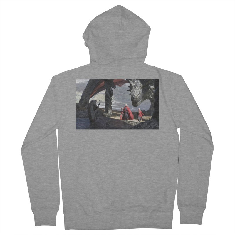 The Sept at Dragonstone Men's French Terry Zip-Up Hoody by Gods of Thrones Shop