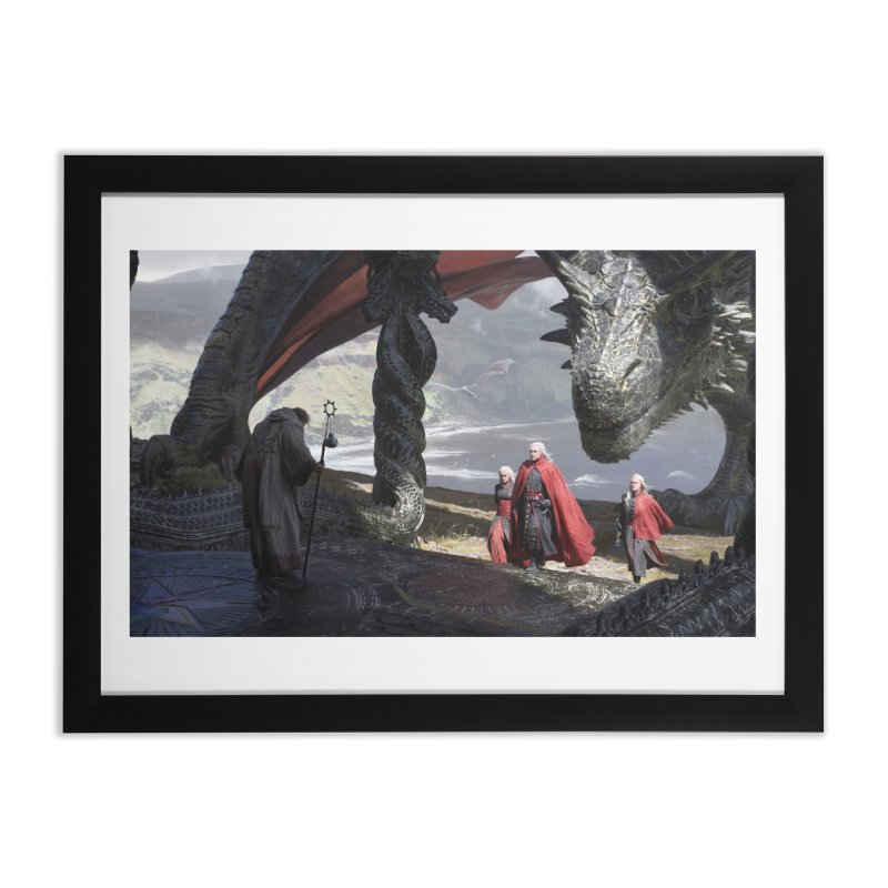 The Sept at Dragonstone Home Framed Fine Art Print by Gods of Thrones Shop