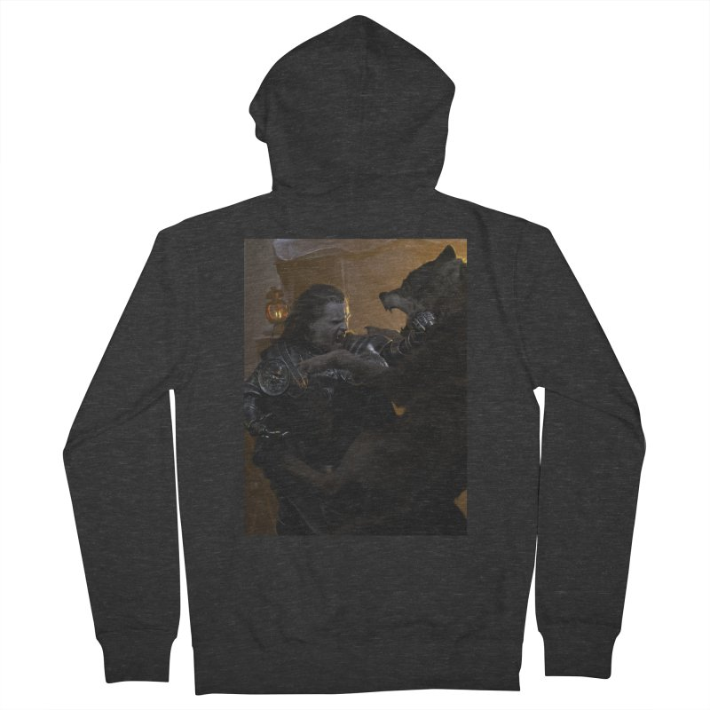 Bolton Men's French Terry Zip-Up Hoody by Gods of Thrones Shop