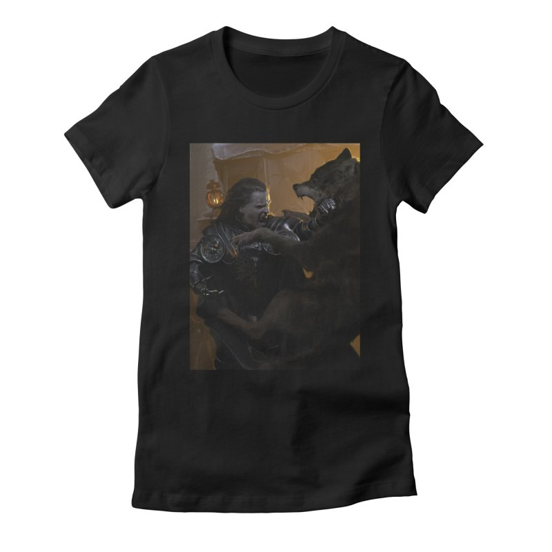 Bolton Women's Fitted T-Shirt by Gods of Thrones Shop