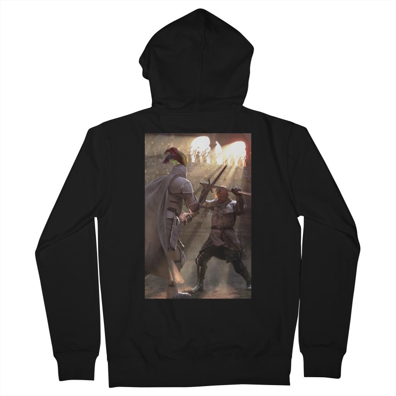 Clegane Bowl Women's French Terry Zip-Up Hoody by Gods of Thrones Shop