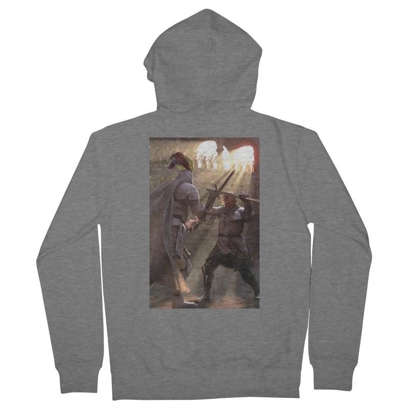 Clegane Bowl Men's French Terry Zip-Up Hoody by Gods of Thrones Shop