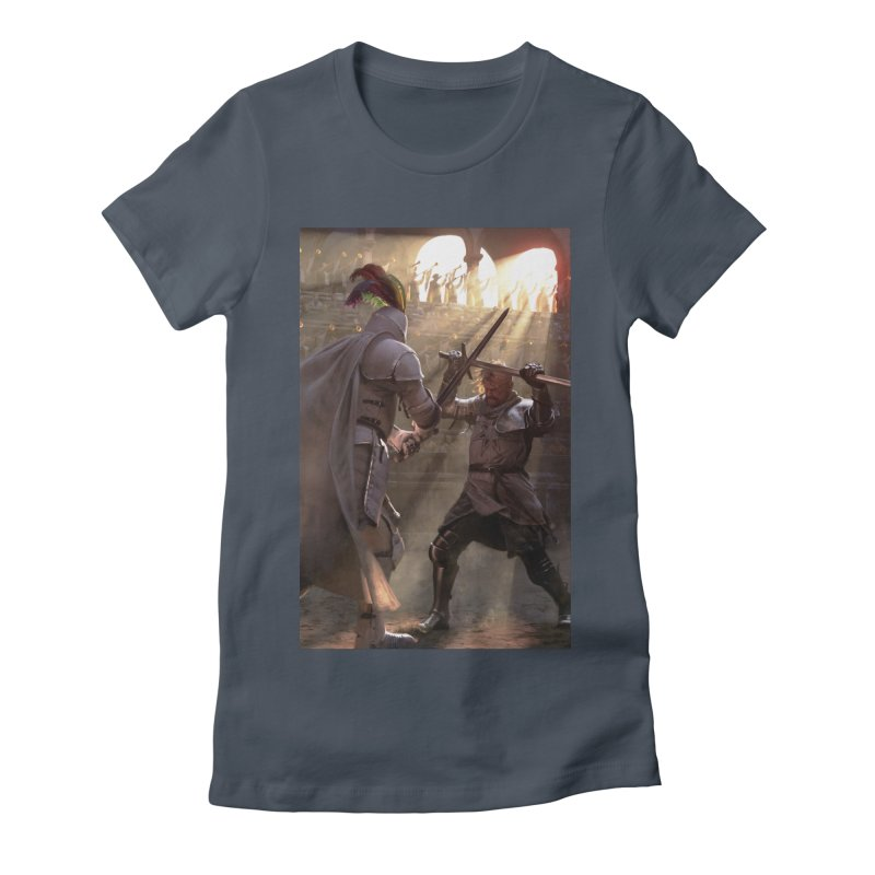 Clegane Bowl Women's Fitted T-Shirt by Gods of Thrones Shop