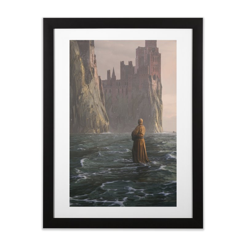 Varys Keeps Paddling Home Framed Fine Art Print by Gods of Thrones Shop