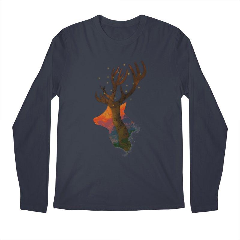 Alone Men's Longsleeve T-Shirt by godzillarge's Artist Shop