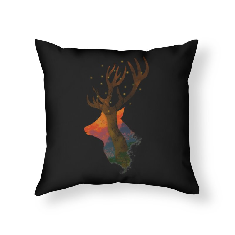 Alone Home Throw Pillow by godzillarge's Artist Shop