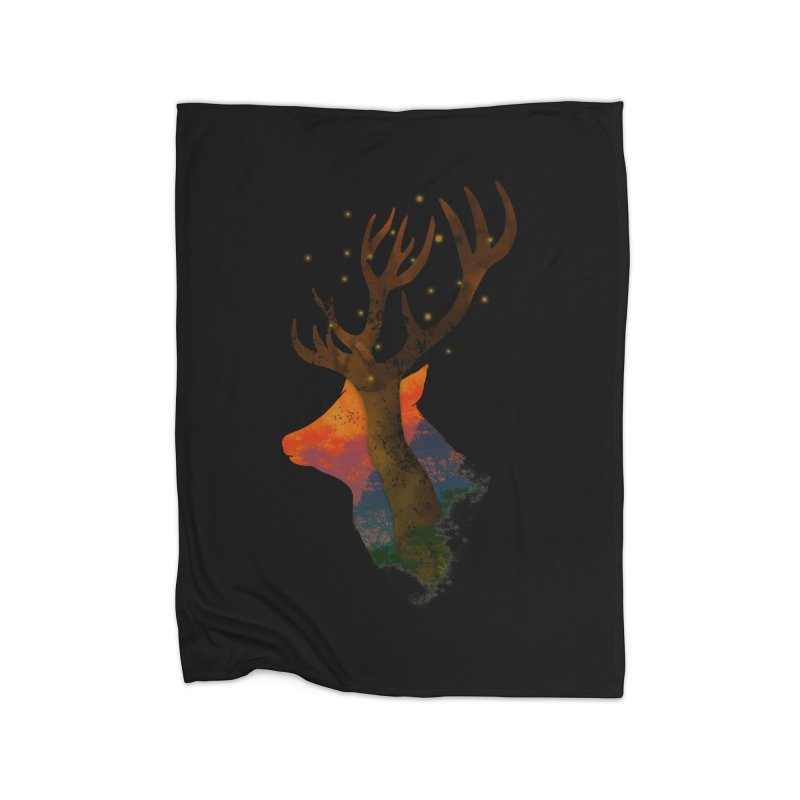 Alone Home Blanket by godzillarge's Artist Shop