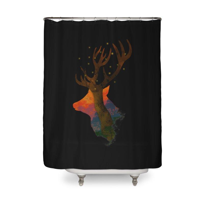 Alone Home Shower Curtain by godzillarge's Artist Shop