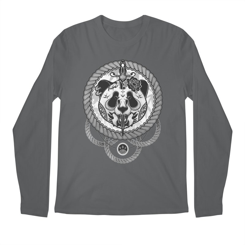 Extreme Panda Men's Longsleeve T-Shirt by godzillarge's Artist Shop