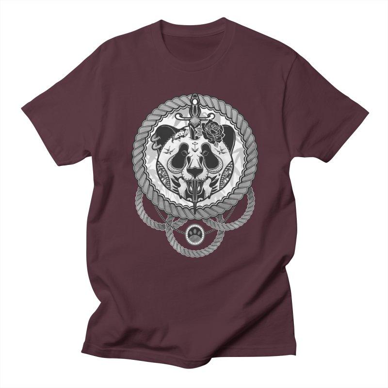 Extreme Panda Men's T-shirt by godzillarge's Artist Shop