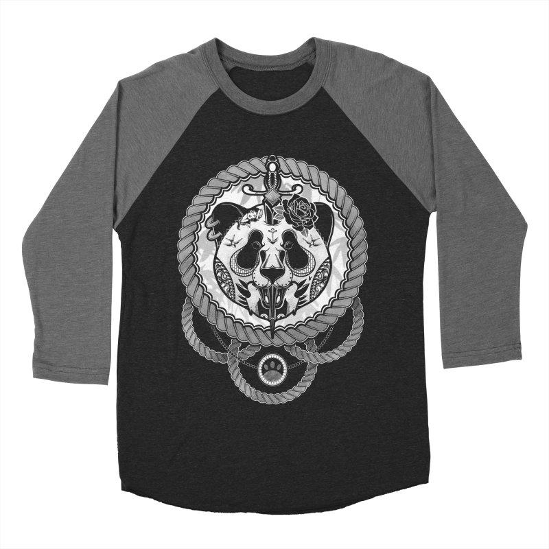 Extreme Panda Men's Baseball Triblend T-Shirt by godzillarge's Artist Shop