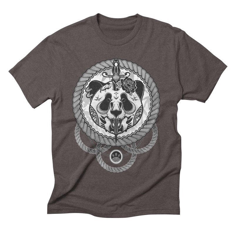 Extreme Panda Men's Triblend T-shirt by godzillarge's Artist Shop