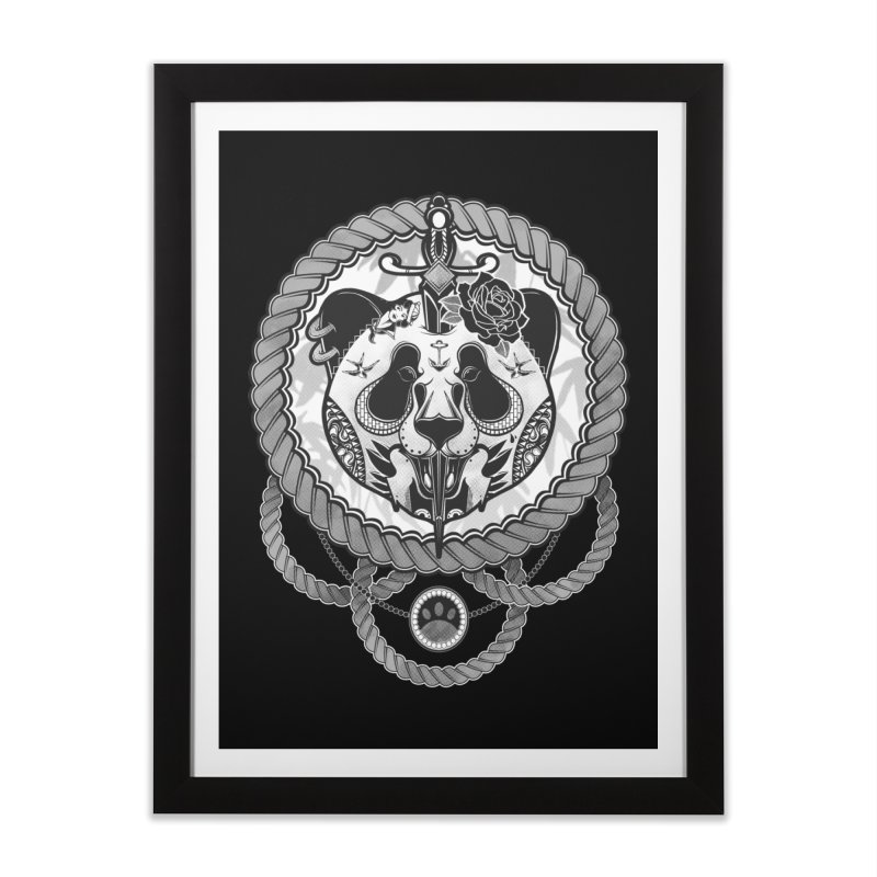 Extreme Panda Home Framed Fine Art Print by godzillarge's Artist Shop