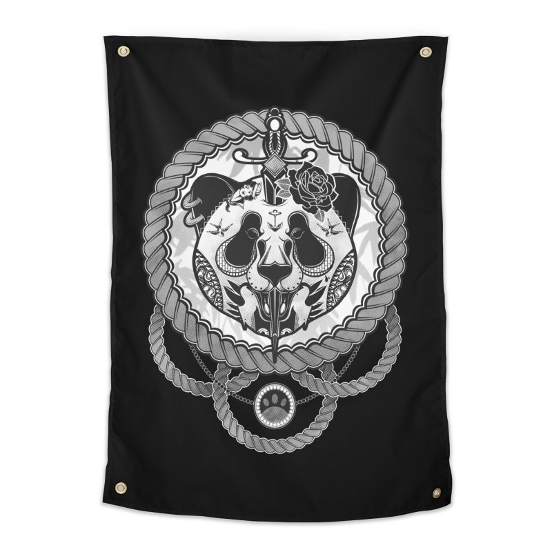 Extreme Panda Home Tapestry by godzillarge's Artist Shop