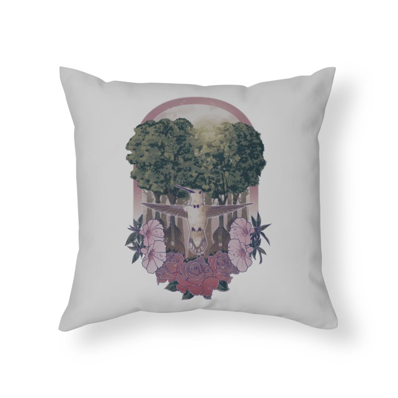The Conductor Home Throw Pillow by godzillarge's Artist Shop
